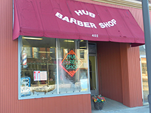Hib Barber Shop Window